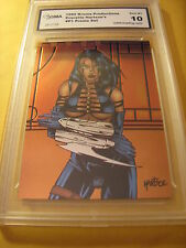 EVERETTE HARTSOE'S 1995 KROME PRODUCTIONS PREMIUM CHROMIUM PROMO P1 GRADED 10