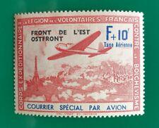 FRANCE LVF 1942 Légion de volontaires Airmail Légèrement Monté Comme neuf Maury 5