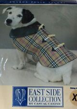 Casual Canine Luxury Dog Coat Check London Plaid xl Size