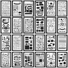 Hollow Ruler Template Bullet Journal Stencil Plastic Stencils Diary/Scrapbook