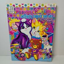 Vtg Lisa Frank Purrfect Playtime Coloring Book w/ Full Set Stickers Kittens Cat