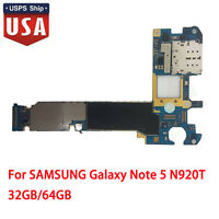 32GB Original MainBoard Motherboard for SAMSUNG Galaxy Note5N920T US Stock