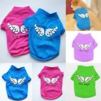 Haustier Kleidung Angel Wing Baumwolle T-Shirt Hündchen Hund Katze Weste Tops
