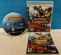 Dynasty Warriors 6: Empires (Sony PlayStation 3, 2009) with Manual - Working