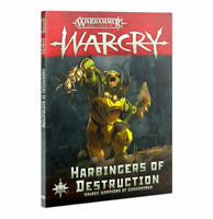 Warcry: Harbingers of Destruction Book - Warhammer Age of Sigmar - Brand New!