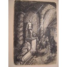 Encre Don Juan 1927 dans le goût de Charles RICKETTS (1866-1931)