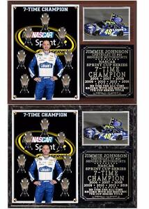 Jimmie Johnson 7-Time Sprint Cup Champion Photo Plaque