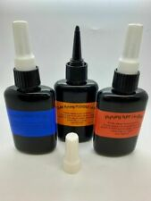 150g Light, Thick and Flexible Fly Tying UV Glue, Resin, in UV protected Bottles