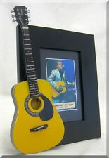 GLENN FREY  Miniature Guitar Frame The EAGLES
