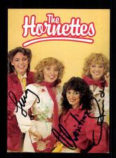 The Hornettes Autogrammkarte Original Signiert ## BC 157752