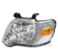 For 06-10 Ford Explorer Crystal Style Headlight Headlamp Lamp Chrome Driver Left