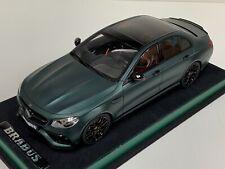 1/18 GT Spirit Mercedes Benz E63 Brabus Rocket 800 Matte Green GT208 Leather Bas