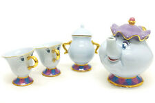 Tokyo Disney Resort Limited Beauty and the Beast Mrs. Potts and Chip Tea Set JPN