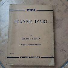 jeanne d'arc par hilaire Belloc