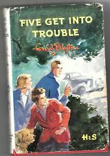 FIVE GET INTO TROUBLE-  BY ENID BLYTON, 1968