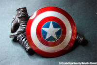 1/6 America Shield Model 2.0 Metal Buckle Hand Action Figure Toy Great Gift Hot