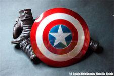 1/6 Captain America Shield 2.0 Figurine articulée, modèle à main en métal Jouets