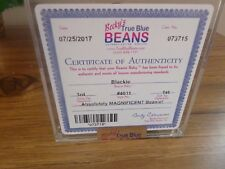 Ty Beanie Baby- Blackie The Bear 3Rd Gen, 1St Tush Becky'S Authentic>Auction