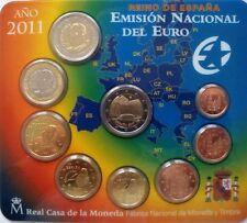 """KMS Spanien 2011 """"Stgl."""" + 2€ Gedenkmünze wie ausg. """"Real Casa de la Moneda"""""""