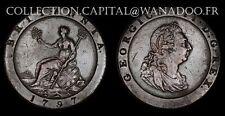 Grande Bretagne One Penny 1797 Georgius III Belle qualité