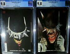 The Batman Who Laughs #1 CGC 9.8 lot The Batman Who Laughs #2 Capullo Variants