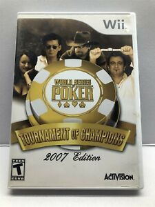 World Series of Poker: Tournament of Champions (Nintendo Wii, 2006) Complete