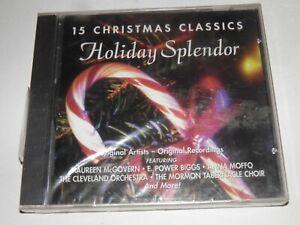 15 Christmas Classics Holidays Splendor CD (NEW)