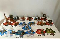 Heroscape Figure Lot Cards and Figures Marro Samurai Warrior