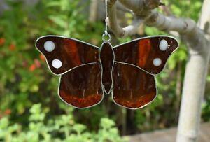Red Admiral Butterfly Suncatcher - Window Decoration - Garden Sun Catcher