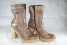 Gap women's leather High heels Boots UK 5 , EU 38 (Brown)