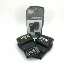 Everlast Multipurpose training Gloves Black&Yellow Size L/XL P00000664 NEW #7581