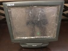Micros PCWS 2010 Workstation POS System Windows XP Touchscreen PARTS OR REPAIR
