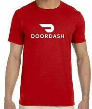 "DOORDASH Full Front 12"" wide Print Unisex T-shirt Choose From Several Colors"