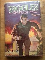 Biggles And The Black Peril, W.E. Johns,1st/1st