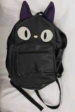 Kiki's Delivery Service Jiji  Backpack Bag Studio Ghibli faux leather rare htf