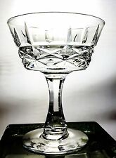 Lot of8 Royal Brierley Cut Crystal Glasses Marlborough Champagne Tall Sherbet