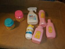 "ksm. Pretend Play Plastic Kitchen Cleaning & Baby  Milk Bottle is 2 3/4"" high"