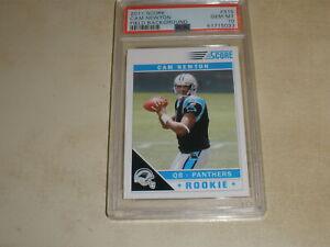 2011 Score Football Rookie #315 Cam Newton RC PSA 10 GEM MINT 5033