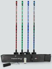 Chauvet Freedom Stick Pack x4 Freedom Sticks LED Light Effect DJ Disco + Bag