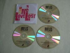 THE RIFLES No Love Lost 2015 deluxe edition promo 3CD album