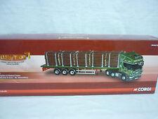 Corgi Modern Truck/Haulage CC12942 Scania Flatbed & Log Load Derek Marston