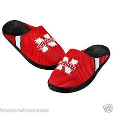 Nebraska Cornhuskers Team Jersey Indoor/Outdoor Slippers ~ Size LRG (11-12)
