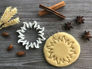 Sun Cookie Cutter 01 | Fondant Cake Decorating | UK Seller
