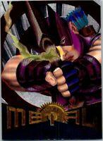 1995 Fleer Marvel Metal Silver Flasher Card #22 Hawkeye