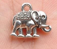 20pcs Tibetan Silver elephant Charms Pendant Jewelry Findings 13mm F3289