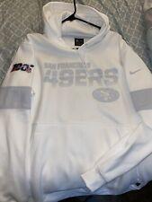 Nike San Francisco 49ers 100th Season On Field Hoodie Size XL