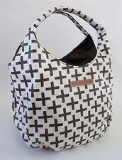 Alexander Girard Brown Cross Cotton Canvas Hand Bag