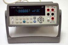 Mint Condition Agilent Keysight 34410a 6 12 Digit High Performance Dmm Tested