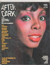 AFTER DARK entertainment magazine/Donna Summer/Bernie Taupin 4-77
