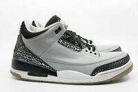 Air Jordan 3 Retro Wolf Grey Size 12 136064-003